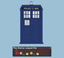 The Doctor played the Song Of Time! by elizabethnicole