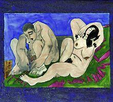 Frei nach Munch by Silvia Eichhorn