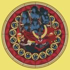 Gurren Lagann Stained Glass by Brandon De VITO