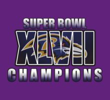 Super Bowl 47 Raven Champion Shirt by rnk07