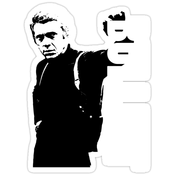 Steve McQueen Bullitt by monsterplanet