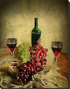 Wine and the Grapes,  by Irene  Burdell