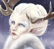 Winter elf by tiphs