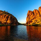 Glen Helen Gorge by Jan Fijolek