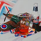 Beer and Old Blighty by Paula Oakley