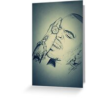 """Chris Brown """"No More Apologies"""" XXL Cover Greeting Card"""