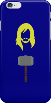 Thor Mjölnir Hammer The Avengers iPhone Case by metroemporium