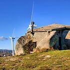 Stone house in eolic park, Fafe by vribeiro