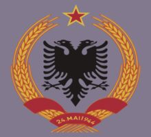 Coat of arms of the People's Republic of Albania (1946–1991) by Tia Knight