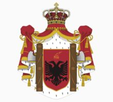 Royal Coat of arms of Albania by Tia Knight