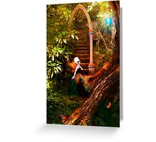 Butterfly Ball - Into The Woods Greeting Card