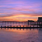 Bognor Regis Sunset by gleadston