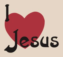 """Christian """"I Love Jesus"""" by T-ShirtsGifts"""