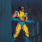 Wolverine - X-Men The Animated Series (Production Cel) by Sebastian Sindermann