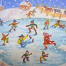 The Snow Ice Skaters by Elizabeth Henry by Vivian Eagleson