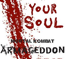 FIGHT FOR YOUR SOUL ! by delonte089