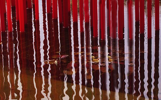GLASS REFLECTIONS by ANNABEL   S. ALENTON