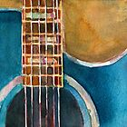 Blue Guitar by Dorrie  Rifkin