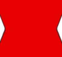 Black Widow Logo Sticker