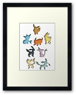 Eeveelutions by kriztee