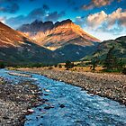 Blakiston Creek - Waterton Lakes National Park by Mark Kiver