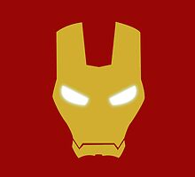 Iron Man Mask The Avengers iPhone Case by metroemporium
