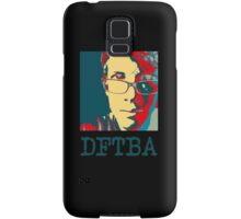Hank Green DFTBA Black  Samsung Galaxy Case/Skin