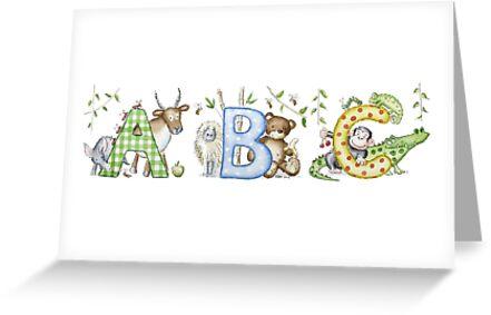 Jungle ABC by Kate Garrett