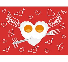 Breakfast for Lovers Photographic Print