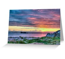 Sunset in France Greeting Card