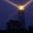 Cape Blanco Lighthouse at Night - Oregon, USA by mcdonojj
