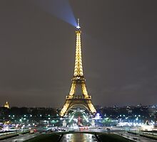 Eiffel Tower at Night by Joshua McDonough