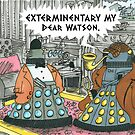 Darlock Holmes &amp; Dalek Watson by ToneCartoons