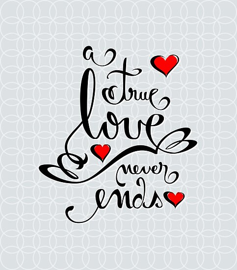 Quot valentine love calligraphy and hearts by ruxique redbubble