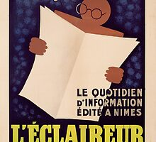 Poster advertising 'L'Eclaireur du Midi' newspaper, c.1939  by Bridgeman Art Library