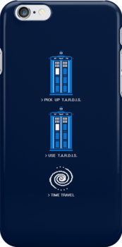 8-Bit Adventure - Doctor Who Shirt by BootsBoots
