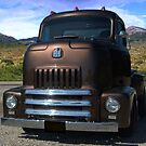 "1954 International Harvester Cab Over Pickup Truck ""Size Matters"" by TeeMack"