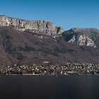 Lake Annecy, French Alps by Joshua McDonough