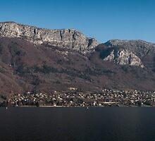 Lake Annecy, French Alps by Joshua McDonough
