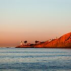 Lighthouse at Sunset, San Diego California by Joshua McDonough