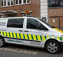 St John Ambulance  by Keith Larby