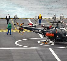 Safety Walkdown - Helicopter Flight Deck by mcdonojj