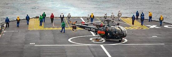 Safety Walkdown - Helicopter Flight Deck by mcdonojj