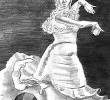 Flamenco Dancer     by Anne Thigpen