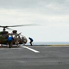 French Aérospatiale Gazelle Attack Helicopter by mcdonojj