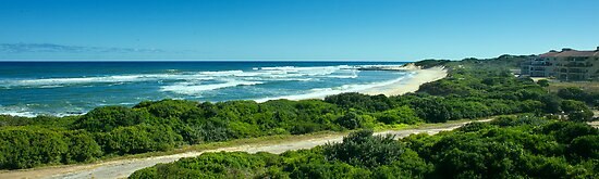 Saltwater Bay , Port Alfred. by Warren. A. Williams