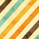 Vintage Fade Stripes by iEric