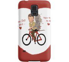 the walking dead heart/bike Samsung Galaxy Case/Skin