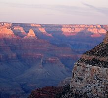 Sunset - Grand Canyon by John Schneider