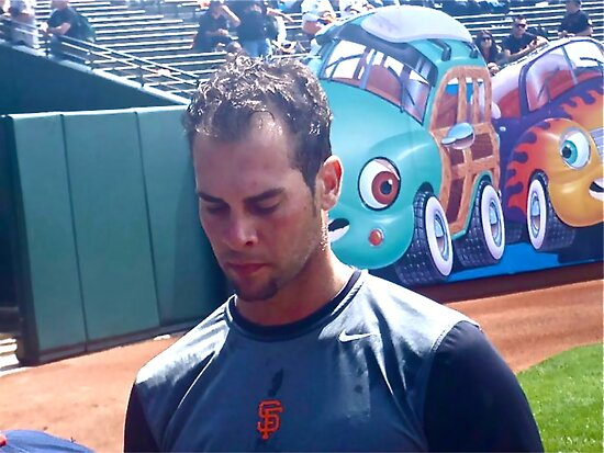 Ryan Vogelsong, San Francisco Giants by ceemoon